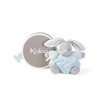 Kaloo plume soft toy rabbit aqua 18cm