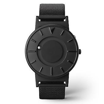 Eone Bradley Mesh Black Titanium & Stainless Steel Watch