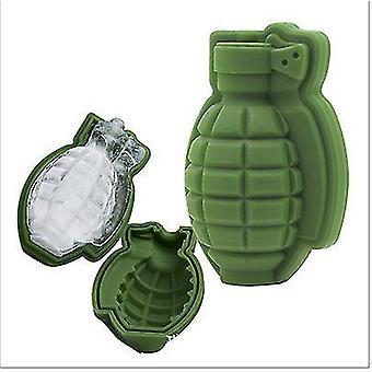 Molde de bandeja de gelo granada 3d Granate Forma molde de bandeja de gelo