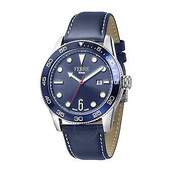Ferre Milano Quartz Blue Dial Men's Watch FM1G109L0011