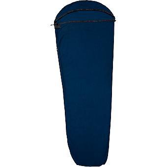 Trespass tettsittende microfleece termisk sovepose liner