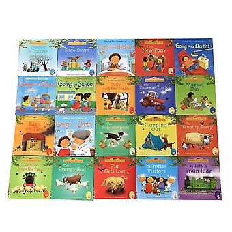 20 Books Usborne Picture Baby English Farmyard Tales Series Farm Story Libros