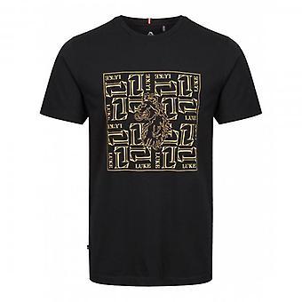Luke 1977 Luke De Wolf Box Logo T-Shirt Preto