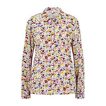 Tom Skredder Floralprint Bluse T-skjorte, 21588/Flerfarget Blomst Pr, XXL Kvinner