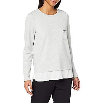 Paragraph CI 82.909.31.8035 T-Shirt, Grey (Grey/Black Melange 90w1), 40 (One Size: 34) Woman