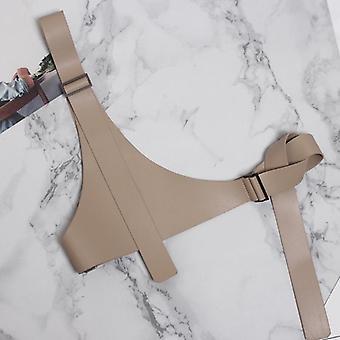 Women Fashion Pu Leather Strap Belt