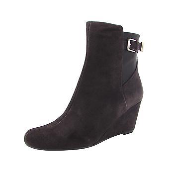 Isaac Mizrahi Live Womens Kayln Wedge Ankle Boots