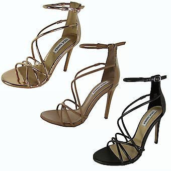 Steve Madden Sátira mujer Stiletto Tacón Sandalias Zapatos