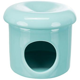 Trixie Ceramic Turquoise House (Small pets , Cages and Parks)