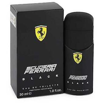 Ferrari Scuderia Black By Ferrari Eau De Toilette Spray 1 Oz (men)