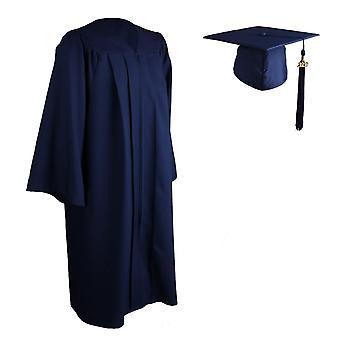 Universität Graduierung Kleid, Mörtelbrett Kappe