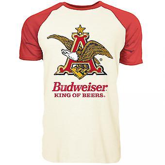Budweiser Eagle Lyhythihainen Raglan T-paita