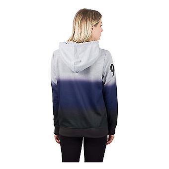 Icer Marken NFL Baltimore Ravens Frauen's voller Reißverschluss, Heather Grau, Größe klein