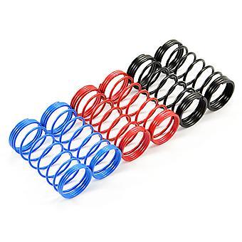 Fastrax 1/10Th 75Mm Spring Set Soft/Blue,Med/Red,Hard/Black
