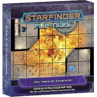 Starfinder Flip-Tiles: City Hazards Expansion Board Game