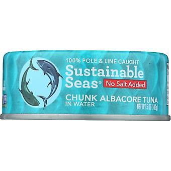 Sustainable Seas Tuna Albcre Watr No Salt, Case of 12 X 5 Oz