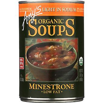 Amys Soup Minestrone Ls, Case of 12 X 14.1 Oz