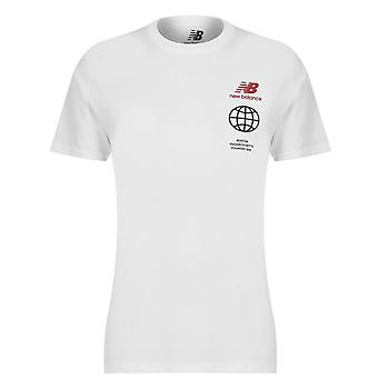 Nieuwe Balans Klein Logo T-shirt Heren