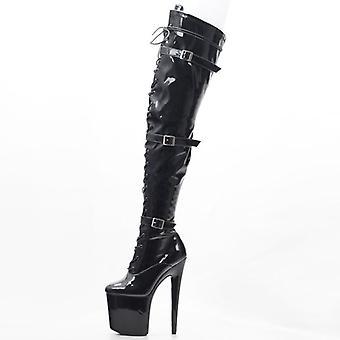 Women High Platform Boots, Thin High Heels