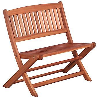 vidaXL garden bench for children 61 cm eucalyptus wood solid