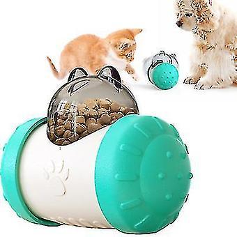 Pet Zone Iq Treat Lelut , Tumbler Hidas syöttölaite, Koiran palapeli lelu (sininen)
