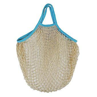 Tragbare Shopping Mesh Tasche wiederverwendbare Netz Tasche Net Bag Baumwolle Shopping Gemüse Mesh Tasche Lagerung