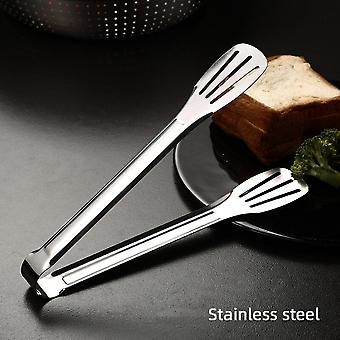 Stainless Steel Food Tongs, Thickened Bbq Tongs, Steak Tongs, Steamed Bread, Barbecue, Buffet, Kitchen