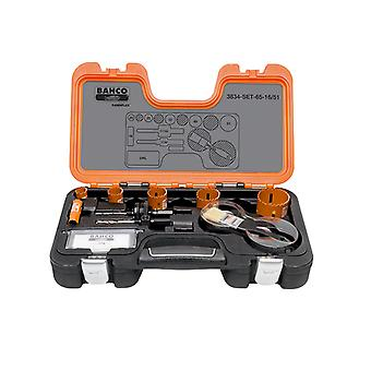Bahco Professional Holesaw Set 3834 16/51 Dimensioni: 16-51mm BAHHSSET1651