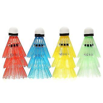Colorful Badminton Shuttlecocks