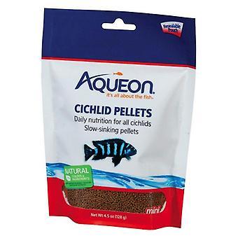 Aqueon Mini Cichlid كريات الطعام - 4.5 oz