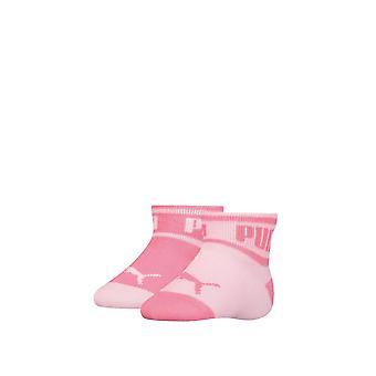 Puma Kinder 2er Pack Word Quarter Socken Sport Casual Everyday Accessoires