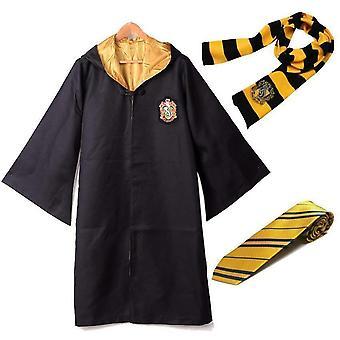 Harry Potter Robe + Scarf + Tie Uniform Complete Carnival Costume