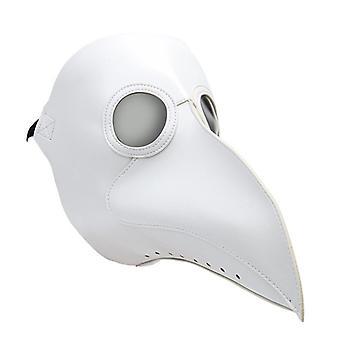 Halloween Cosplay Kostume Pest Doctor Mask Bird Lang Næb Steampunk