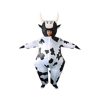 Aufblasbares Kostüm Ganzkörper Kuh Dinosaurier Party Blow-up Anzug Halloween Cosplay