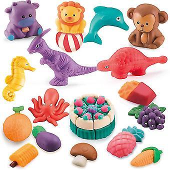 Culoare Clay Diy plastilină Jucărie Set Dainasour Model