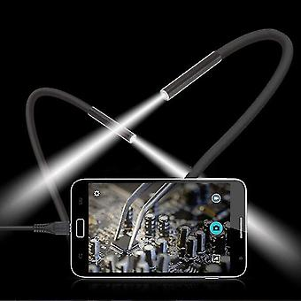 Waterproof Mobile Phone Endoscope 15m 6 Led Usb Borescope Handheld Camera-p50