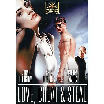 Love, Cheat & Steal [DVD] USA import