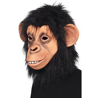 Μάσκα μαϊμού χιμπατζής χιμπαντζής λατέξ