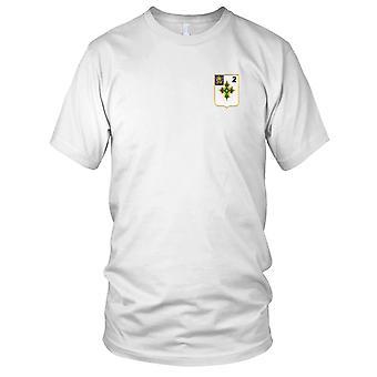US Army - 2: a bataljonen 47: e infanteriregementet broderad Patch - Mens T Shirt