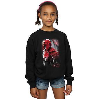 Star Wars Girls The Last Jedi Praetorian Guard Brushed Sweatshirt
