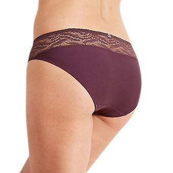 Barbara 222611 Women's Aventure Fauna Burgundy Brief