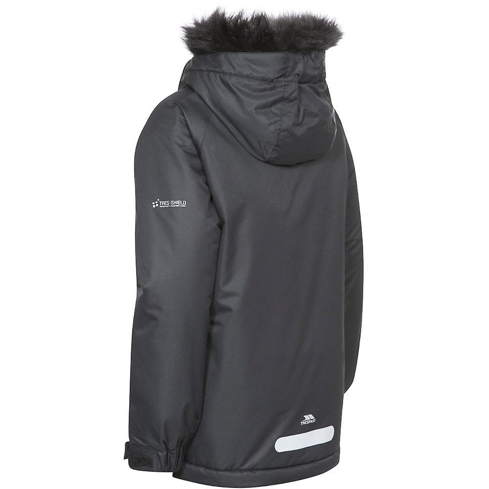 Trespass Girls Staffie Waterproof Windproof Padded Shell Jacket