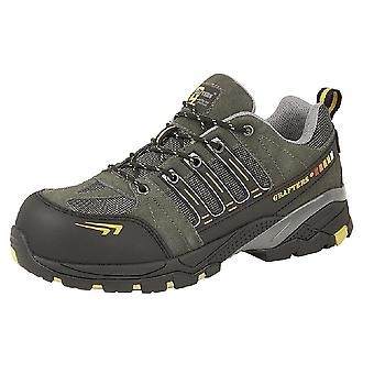 Grafters Mens Superlight Non-Metal Toe Capped Safety Trainers