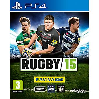 Rugby 15 (PS4) - New