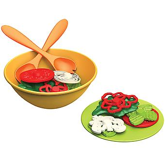 Green Toys Salad Pretend Play Food Set BPA Free 100% Recycled