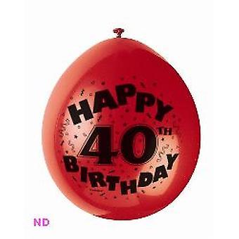 'Gelukkige 40e verjaardag' 9