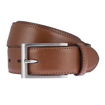 Cinturones de cinturón cinturones de hombres LLOYD de cuero Cognac correa 6618