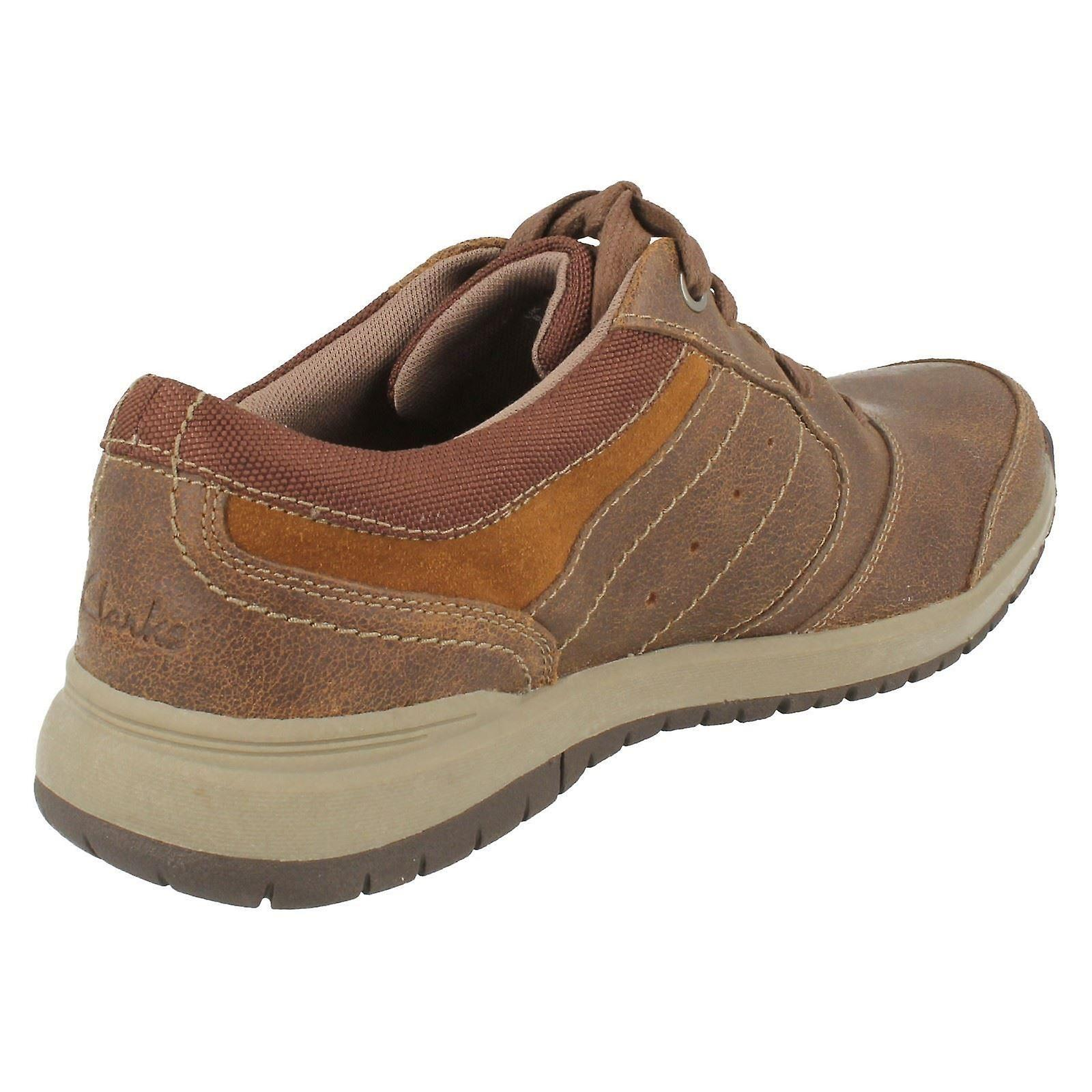 Mens Clarks Casual Lace Up chaussures Ryley Street