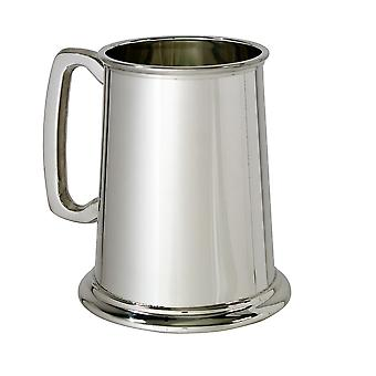 Plain glas basis 1 Pint Pewtertankard
