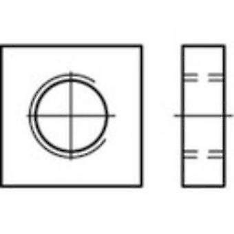 TOOLCRAFT 109028 Square Muttern M4 DIN 562 Stahl 100 PC